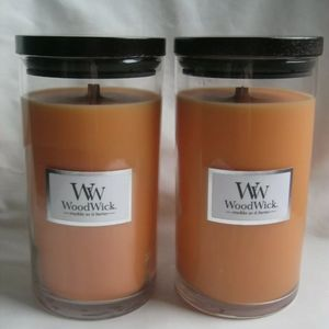 WoodWick Candles RARE Mango Mandarin